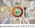 Diet Nutrition Health Food Healthy Eating Website Concept 24123431