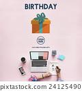 Birthday Giet Anniversary Celebrate Concept 24125490