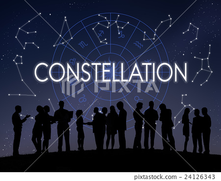 Constellation Astronomy Horoscope Fortune Telling Zodiac Concept 24126343