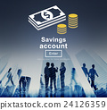 Savings Account Money Global Finance Concept 24126359