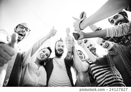 Celebrate Enjoyment Friends Together Unity Social Concept - Stock