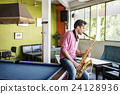 Alto Saxophone Artist Classical Jazz Musician Sax Concept 24128936