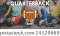 Quarterback Physical Education Rugby Sport Concept 24129669