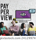 Pay-Per-View Content Magnifier Observation Concept 24129974