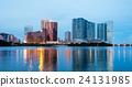 Macao skyline at night 24131985