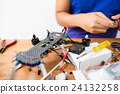 Flying Drone building 24132258