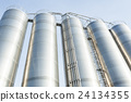Industrial silos in the chemical industry 24134355