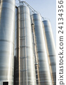Industrial silos in the chemical industry 24134356