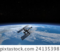 earth, globe, Space station 24135398