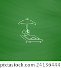 Relax computer symbol 24136444