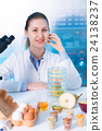 technician in laboratory 24138237