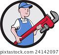 spanner, tradesman, repairman 24142097
