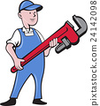 spanner, tradesman, repairman 24142098