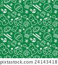 패턴, 녹색, 배경 24143418