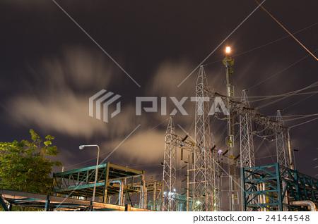 Oil refinery plant of petroleum  24144548