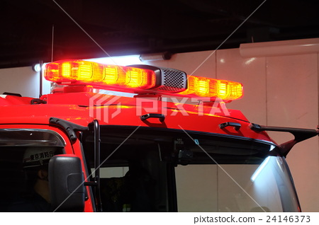 Stock Photo: firetruck, fire-engine, fire and disaster management agency
