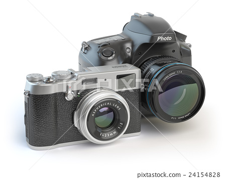 Digital cameras. Dslr and mirrorless cameras 24154828
