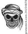 skull with bandana 24154879