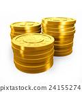 硬币 黄金 金色 24155274