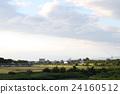 美麗的天空和米澤市 24160512