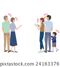 family, vector, grandchildren 24163376