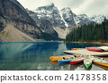 Moraine Lake boat 24178358