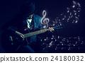 guitar, music, playing 24180032