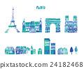 Eiffel Tower illustration 24182468