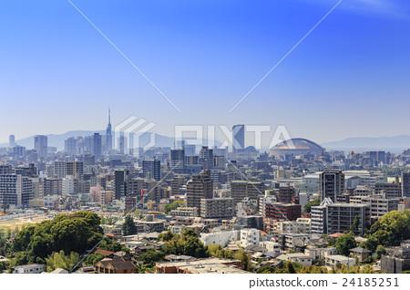 城市景觀福岡市方向Sayoshi地區 24185251