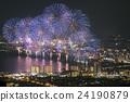 [Shiga prefecture] Biwako big fireworks 24190879