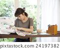 女性 縫 愛好 24197382
