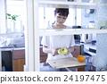 肖像 廚房刀 果皮 24197475