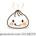 귀여운 만두 캐릭터 후끈 24198250