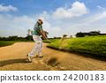 高尔夫 挥舞 高尔夫球手 24200183
