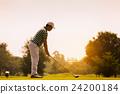 高尔夫 高尔夫球手 俱乐部 24200184