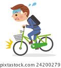 自行车 脚踏车 商务人士 24200279