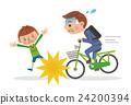 자전거에서 아이에게 부딪 사업 24200394