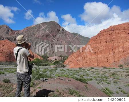 argentino, canyon, valley 24200601