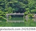 Ritsurin Garden in Takamatsu, Japan. 24202066
