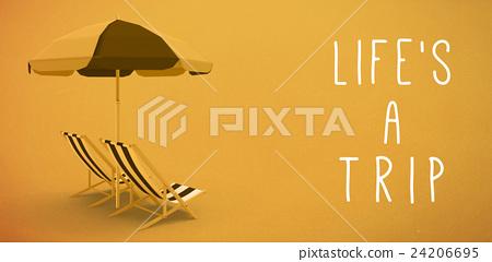 Lifes a trip message  24206695