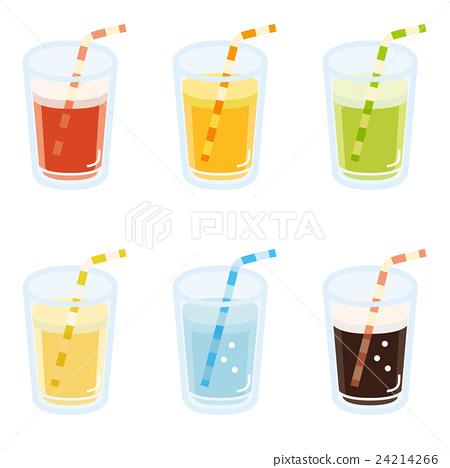 一組 果汁 矢量 24214266