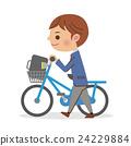 自行車 腳踏車 學生 24229884