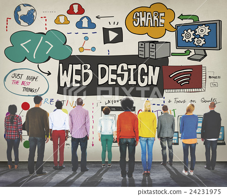 Web Design Programming Homepage Website Concept 24231975