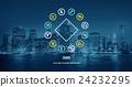 Zodiac Symbols Astrology Horoscope Star Concept 24232295
