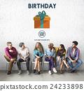 Birthday Giet Anniversary Celebrate Concept 24233898