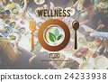 Wellness Eating Healthy Lifestyle Nutrition Concept 24233938
