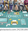 Connect Connection Devices Technology Communicztion Concept 24236166