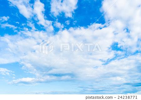 White cloud on blue sky 24238771