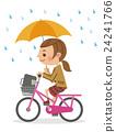 自行车 脚踏车 学生 24241766