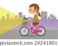 自行車 腳踏車 學生 24241801